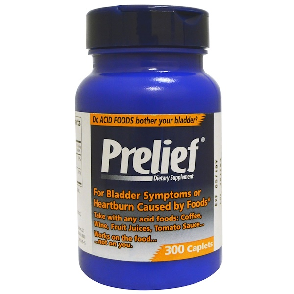 Prelief, Dietary Supplement, 300 Caplets (Discontinued Item)