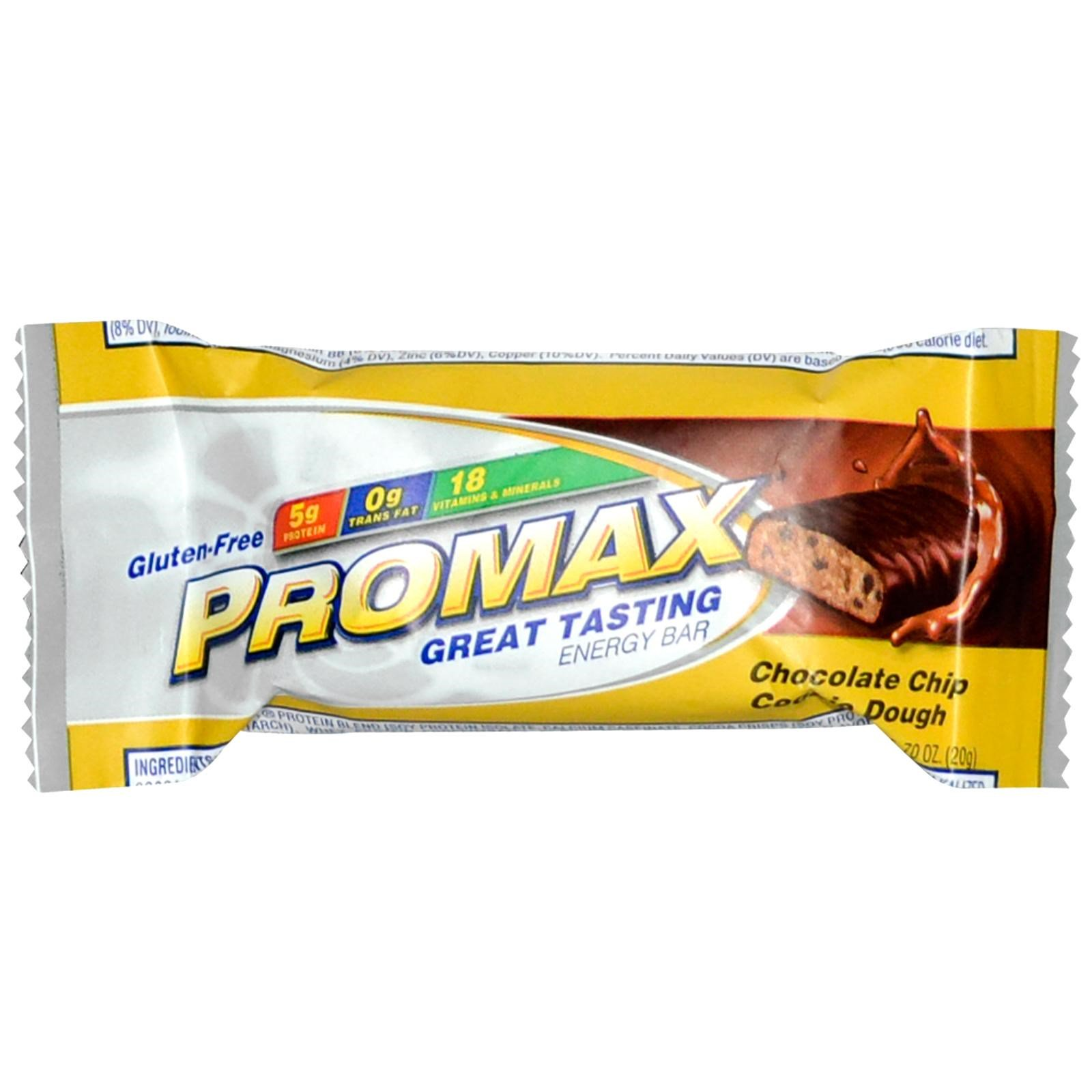 Promax Energy Bar Nutrition Facts Blog Dandk