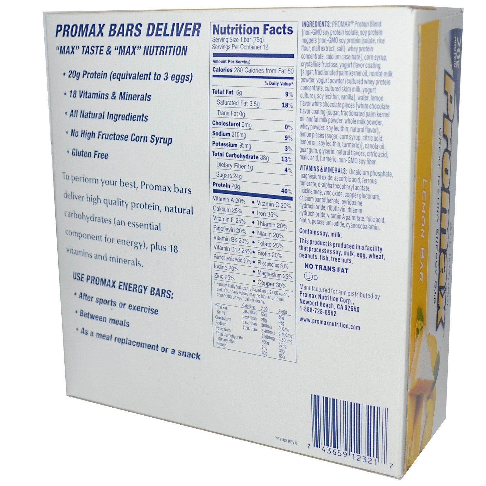 a2f35ba76 Promax Nutrition