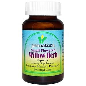 Пронатура, Small Flowered Willow Herb, 60 Softgel Caps отзывы
