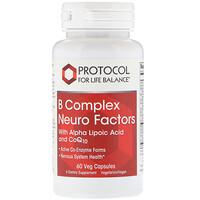 B Complex Neuro Factors, 60 Veg Capsules - фото