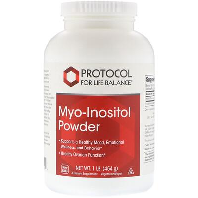 Купить Protocol for Life Balance Мио-инозитольный порошок, 454 г