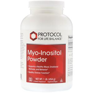 Протокол Фор Лифе Балансе, Myo-Inositol Powder, 1 lb (454 g) отзывы покупателей