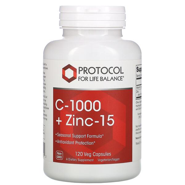 C-1000 + 鋅 15,120 粒素食膠囊