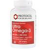 Molecularly Distilled Ultra Omega-3, 500 EPA/250 DHA, 180 Softgels
