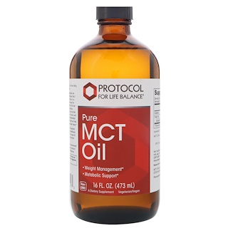 Protocol for Life Balance, Aceite MCT puro, 16 fl oz (473 ml)