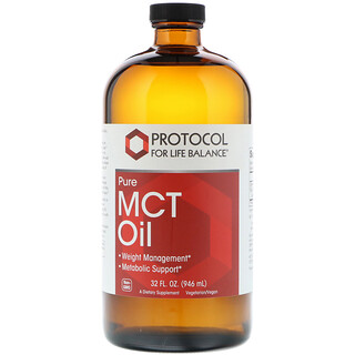 Protocol for Life Balance, Pure MCT Oil, 32 fl oz (946 ml)