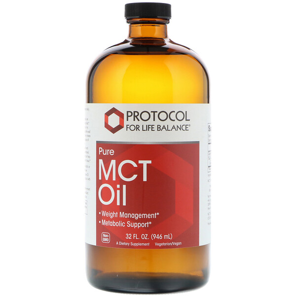 Pure MCT Oil, 32 fl oz (946 ml)