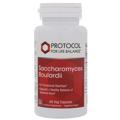 Купить Protocol for Life Balance Сахаромицеты Буларди, 60 вегетарианских капсул