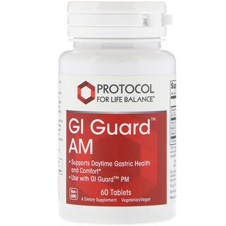 Protocol for Life Balance, GI Guard AM, 60 Tablets