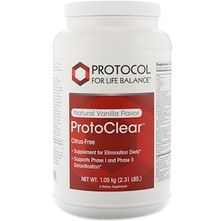 Protocol for Life Balance, ProtoClear, Natural Vanilla Flavor, 2.31 lbs (1.05 kg)