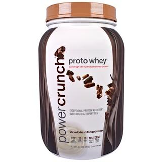 BNRG, プロトホエイ(乳清), ピュア高DH加水分解ホエイプロテイン(乳清タンパク質), ダブルチョコレート, 2.1ポンド (962 g)