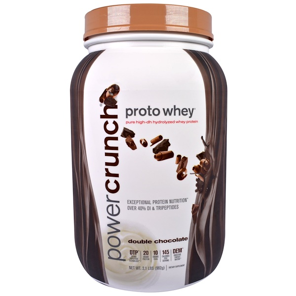 BNRG, Proto Whey, Pure High-DH Hydrolyzed Whey Protein, Double Chocolate, 2.1 lbs (962 g) (Discontinued Item)
