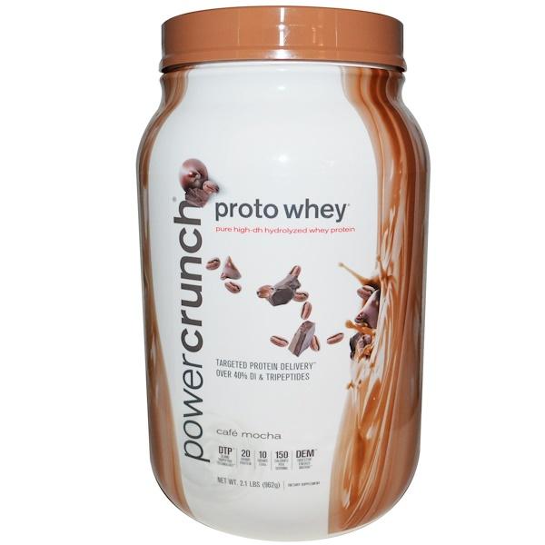 BNRG, Proto Whey, сыворточный протеин со вкусом кофе мокко, 962 г (Discontinued Item)