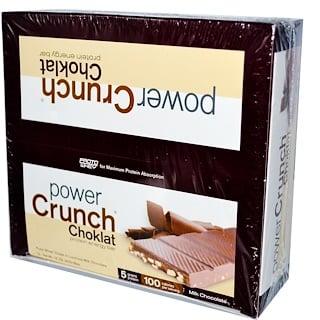 BNRG, パワークランチ、 プロテイン エネルギー バー、 チョコレート、 ミルク チョコレート、 12 バー、各1.5 oz (42 g)