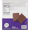 BNRG, Power Crunch 蛋白質能量棒,PRO,三重巧克力,12 條,每條 2.0 盎司(58 克)