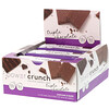 BNRG, Barra Energética Proteica Power Crunch, Original, Triple Chocolate, 12 Barras, 40 g (1,4 oz) Cada