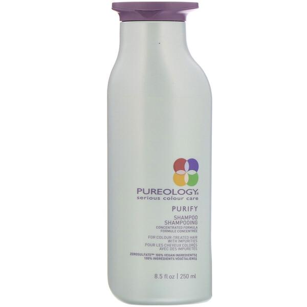 "Serious Colour Care, שמפו Purify, מכיל 250 מ""ל"