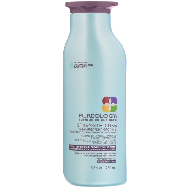 Pureology, Serious Colour Care, Strength Cure Shampoo, 8.5 fl oz (250 ml) (Discontinued Item)