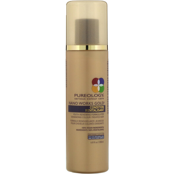 Pureology, Nano Works Gold, Après-shampooing, 200 ml  (Discontinued Item)
