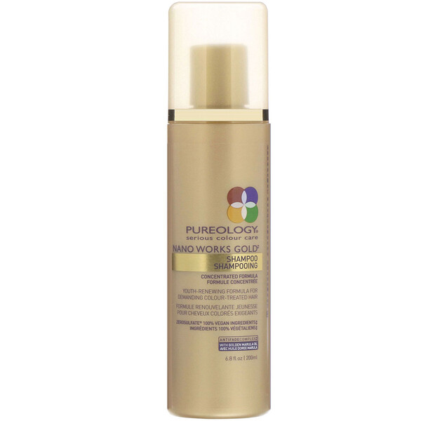 Pureology, Nano Works Gold, shampoing, 200ml  (Discontinued Item)