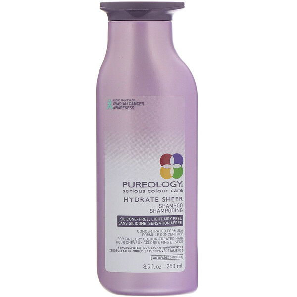 Pureology, Serious Colour Care, Hydrate Sheer Shampoo, 8.5 fl oz (250 ml)  (Discontinued Item)