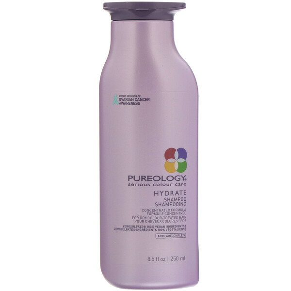 Pureology, Serious Colour Care, Hydrate Shampoo, 8.5 fl oz (250 ml) (Discontinued Item)