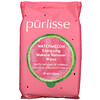 Purlisse, Watermelon, Energizing Makeup Remover Wipes, 30 Towelettes