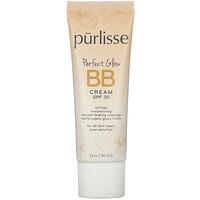 Purlisse, Perfect Glow, BB Cream, SPF 30, Light,  1.4 fl oz (40 ml)