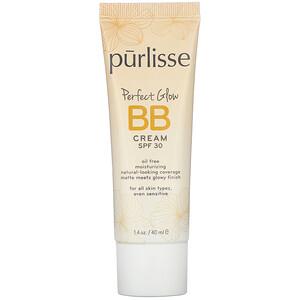 Purlisse, Perfect Glow, BB Cream, SPF 30, Tan Deep, 1.4 fl oz (40 ml)'