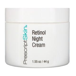 PrescriptSkin, Crema de noche con retinol, 44g (1,55oz)
