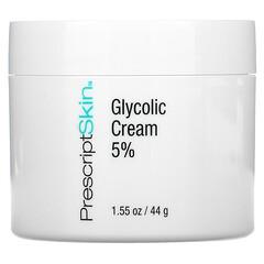 PrescriptSkin, Creme com Ácido Glicólico 5%, 44 g (1,55 oz)