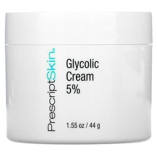 PrescriptSkin, 乙醇酸乳霜 5%,1.55 盎司(44 克)