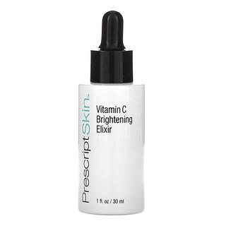 PrescriptSkin, Vitamin C Brightening Elixir, Enhanced Brightening Dry Oil Serum, 1 fl oz (30 ml)