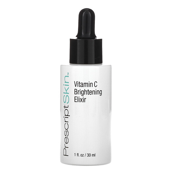 PrescriptSkin, Vitamin C Brightening Elixir, Enhanced Brightening Dry Oil Serum, 1 fl oz (30 ml)