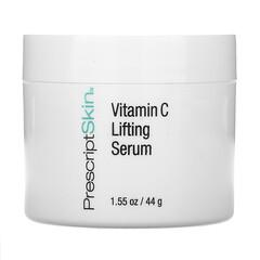 PrescriptSkin, Vitamin C Lifting Serum, straffendes Vitamin-C-Serum, aufhellendes Gel-Serum, 44g (1,55oz.)