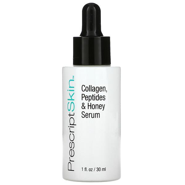 Collagen, Peptides & Honey Serum, 1 fl oz (30 ml)