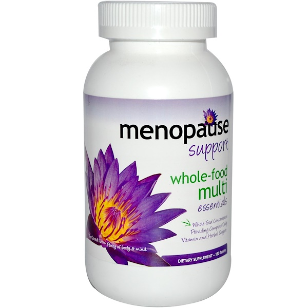 Pure Solutions, Menopause Support, Whole-Food Multi Essentials, 180 Tablets (Discontinued Item)