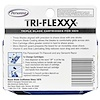Personna Razor Blades, Tri-Flexxx, Triple Blade Cartridges for Men, 4 Cartridges