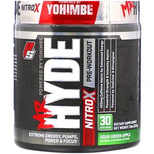 ПроСаппс, Mr. Hyde, Nitro X, Pre Workout, Sour Green Apple, 7.8 oz (222 g) отзывы покупателей