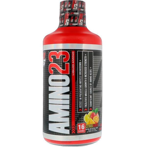 ProSupps, Amino 23, Liquid Amino,  Citrus Punch, 32 oz (946 ml) (Discontinued Item)