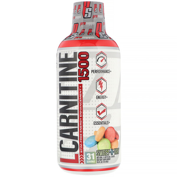 L-Carnitine 1500, Sweet-N-Tart, 1,500 mg, 16 fl oz (473 ml)