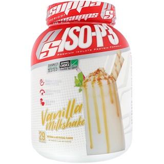 ProSupps, PS ISO-P3, Vanilla Milkshake, 2 lb (907 g)