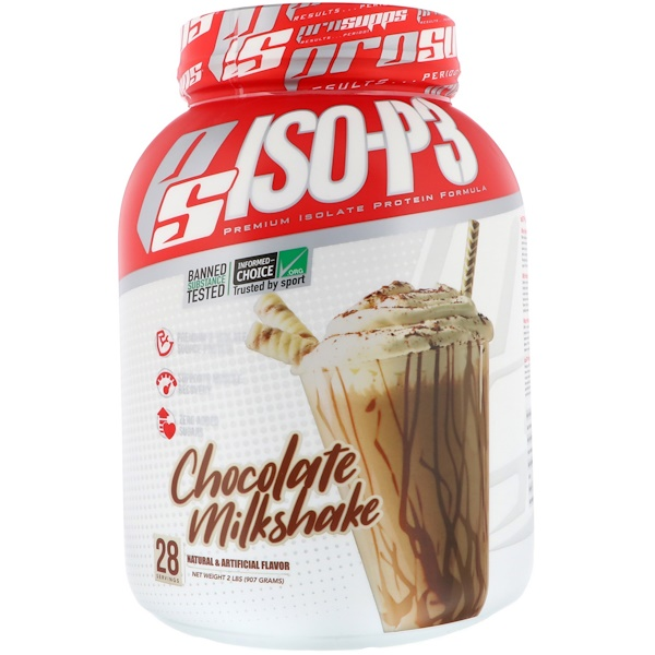 PS ISO-P3, Chocolate Milkshake, 2 lb (907 g)