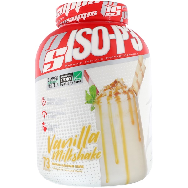 ProSupps, PS ISO-P3,香草奶昔,5磅(2268克)