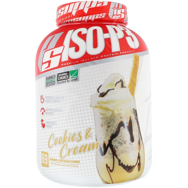 ProSupps, PS ISO-P3,餅乾和奶油,5磅(2268克)