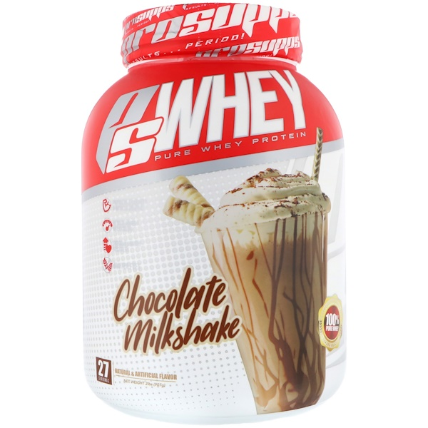ProSupps, PS Whey, Chocolate Milkshake, 2 lb (907 g) (Discontinued Item)