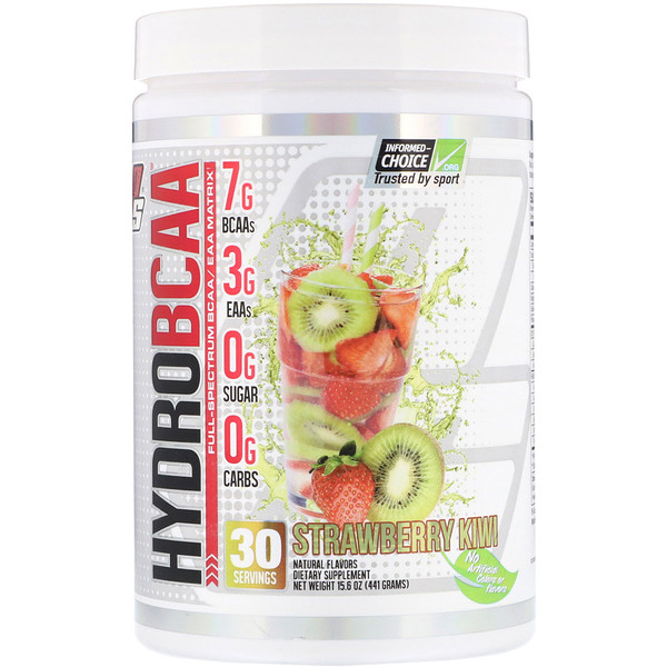 Hydro BCAA, Strawberry Kiwi, 15.6 oz (441 g)