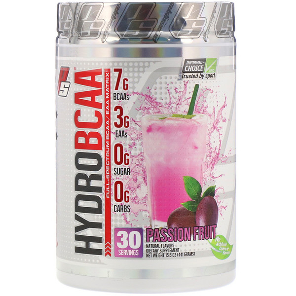 ProSupps, Hydro BCAA, Passion Fruit, 15.6 oz (441 g)