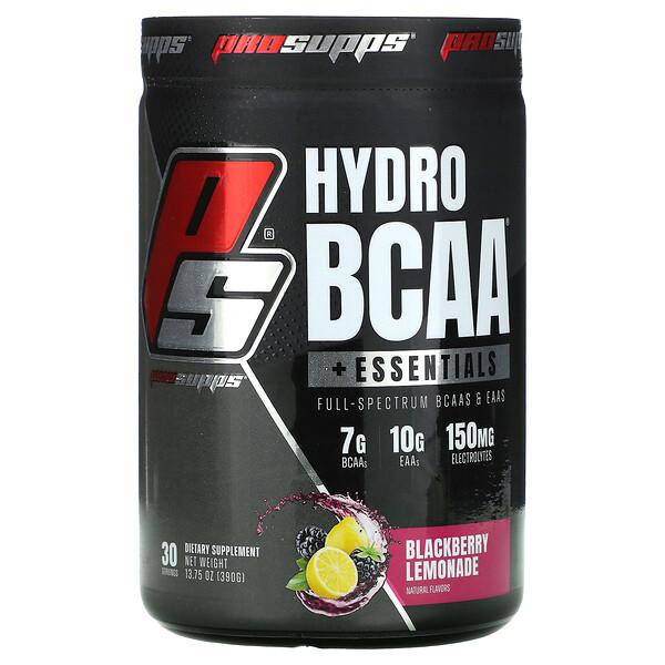 Hydro BCAA + Essentials, Blackberry Lemonade, 13.75 oz (390 g)